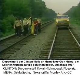 Kevin Ives und Don Henry 23.Aug.1987: Die Leichen sind zerstückelt auf Eisenbahngeleisen