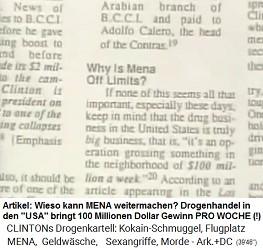 """Der Drogenhandel in den 1990er Jahren bringt in den """"USA"""" 100 Millionen Dollar Gewinn pro WOCHE"""
