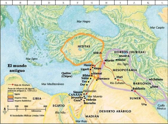 Map Of Jonah S Travels
