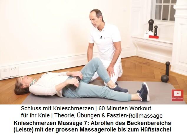 10a. Heilung von Knieschmerzen - Liebscher-Bracht-Übungen