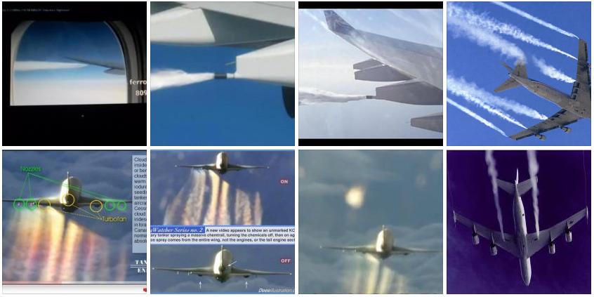 Chemtrail Flugzeuge