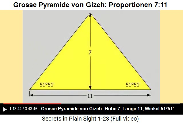 8 grosse pyramide von gizeh 9 7 11 10 864 400 meter mit 1 299 792 458 11. Black Bedroom Furniture Sets. Home Design Ideas
