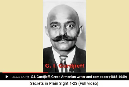 G.I. Gurdjieff, portrait