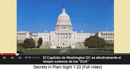 """Washington DC: el Capitolio es en realidad un                       templo solemne de los """"EUA"""""""